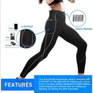 Pants - Women Sauna Weight Loss Slimming Neoprene Pants